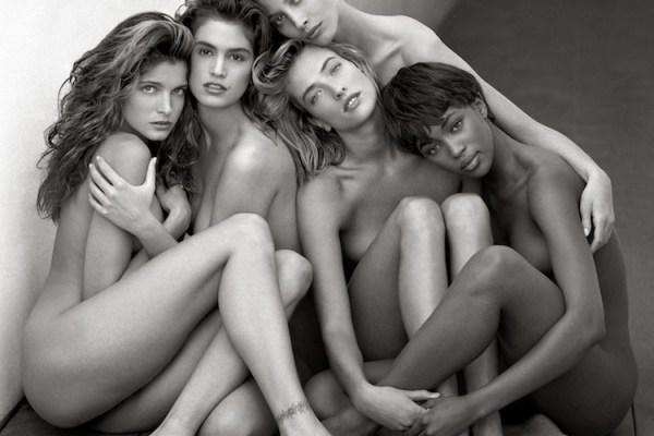 Fotografia moda Stephanie, Cindy, Christy, Tatiana, Naomi