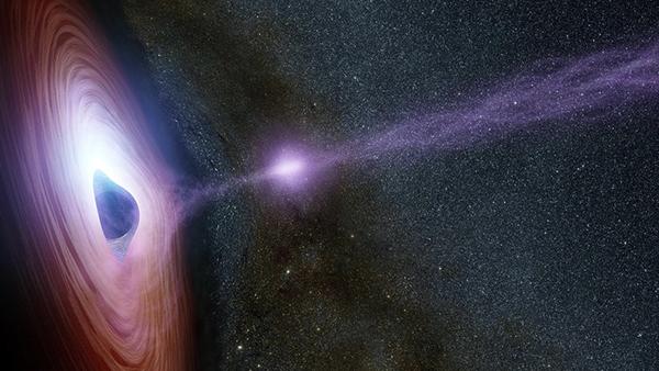 nasa immagini dello spazio buco nero