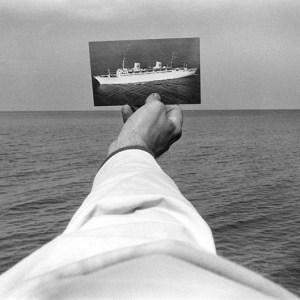 Kenneth Josephson new york state foto nave bianco e nero mare