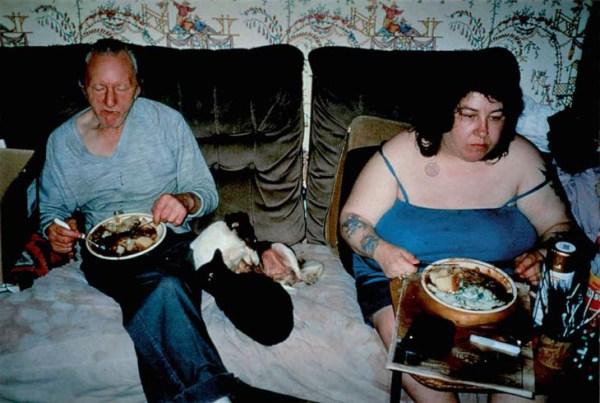 richard billingham ray's a laugh fotografia madre e padre foto