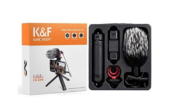 Microfono-CM-600-KF-recensione-per-fotocamere-e-smartphone