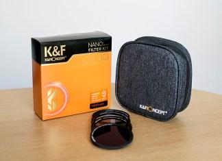 kit filtri magnetici kf concept recensione prova caratteristiche prodotto ND CPL e UV