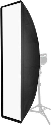 stripbox softbox a striscia come funziona illuminazione in studio fotografico