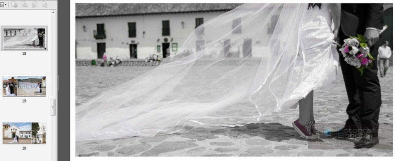 album de bodas editado