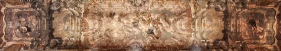 Maddaloni CE) Convento San Francesco - soffitto (olio su tela)