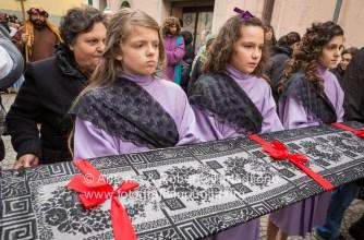 La Via Crucis per le strade del centro storico di Barile (PZ):