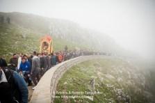 Viggiano (PZ), maggio 2014, celebrazioni per la Festa della Madonna Nera; la salita al Sacro Monte
