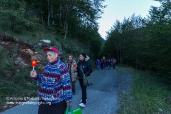 La processione è uscita dal bosco