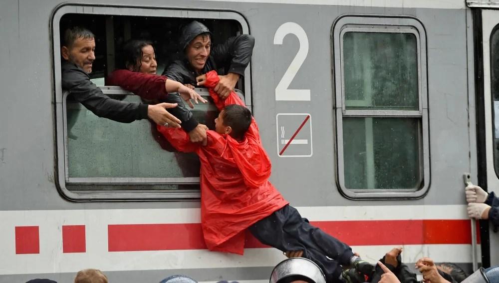 Niños refugiados en Croacia | Getty Images