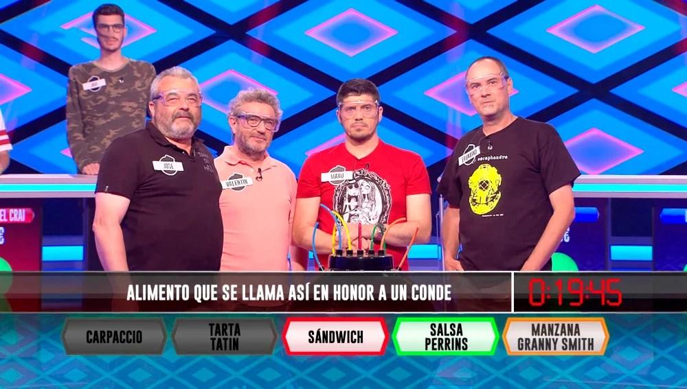 Los Lobos actuales reyes de Boom  ANTENA 3 TV