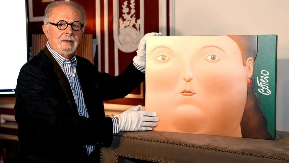 Fernando Botero presenta Las mujeres de Botero un libro