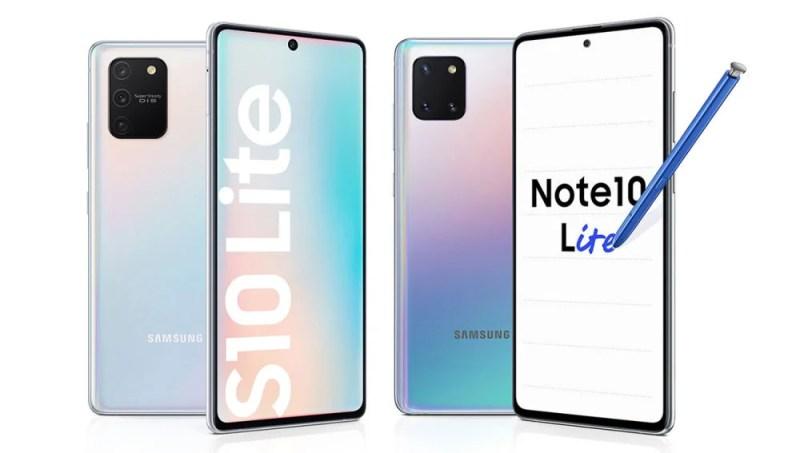 Samsung Galaxy S10 Lite y Galaxy Note 10 Lite, nuevos y ...