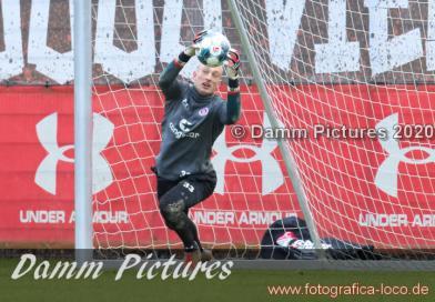 2.Liga: FC St. Pauli Training an der Kollaustraße