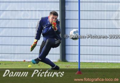 2.Liga: HSV Training im Volkspark