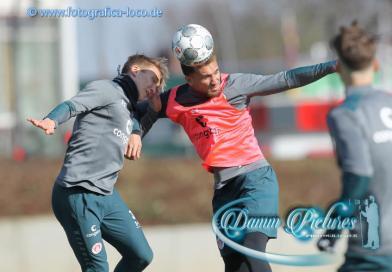 2.Liga: FC St. Pauli Training an der Kollaustraße #fcsp