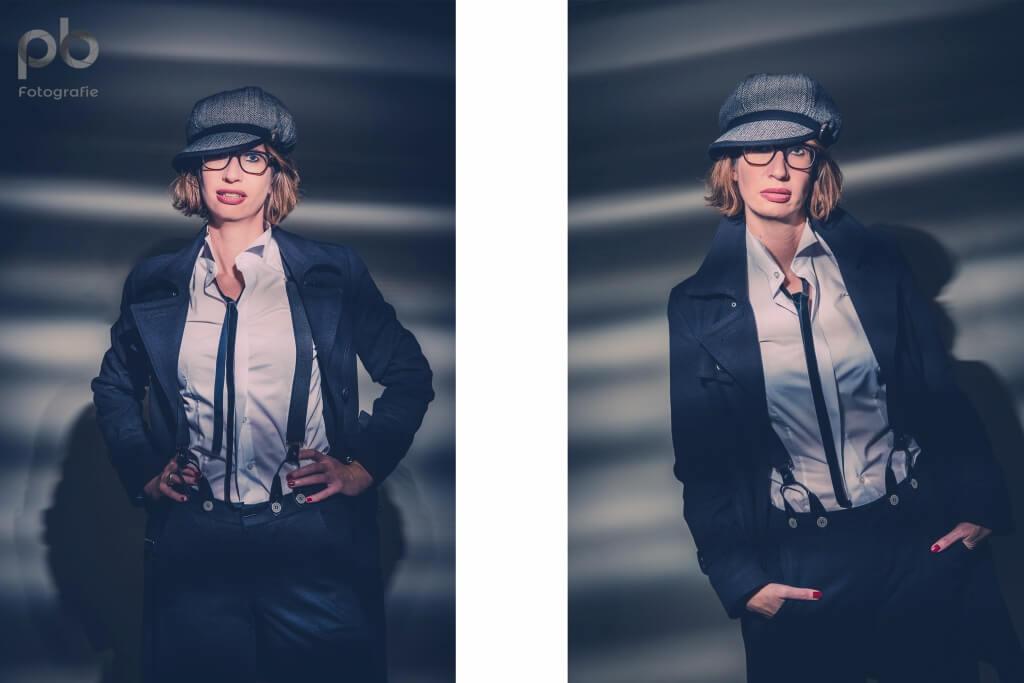 Shooting mit neuem Outfit  Petra Brninghaus