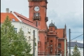 Blick zum Rathaus Pankow (Bezirk Pankow)