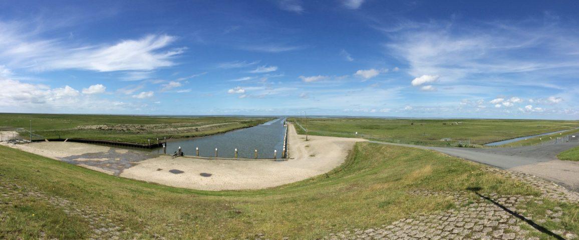 Noordpolderzijl (Noordelijkste 'haven' van Nederland