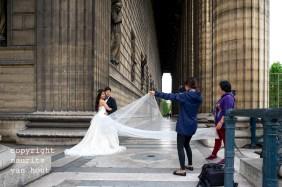 Parijs, trouwreportage bij de Madeleine
