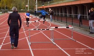 beeld van de workshop sport bij Eindhoven atletiek door maurits van hout