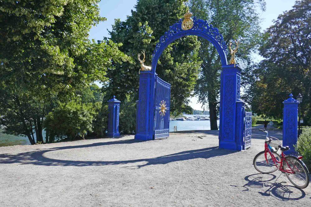 Bla Porten, Djurgarden, Stockholm