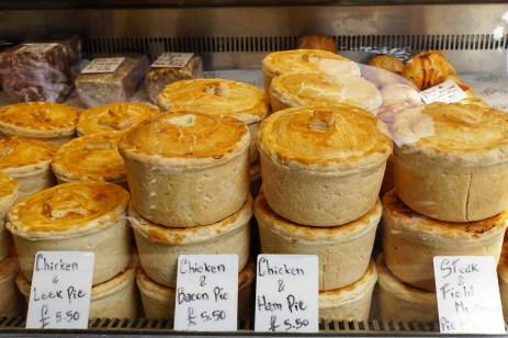 pies on Borough Market