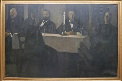 Hammershoi, Vilhelm (1864-1916): Fem porträtt (1901)