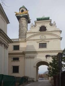 Karlskirche, Ausschnitt