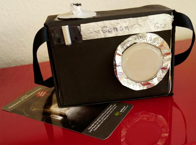 Fotoapparat mit Gutschein