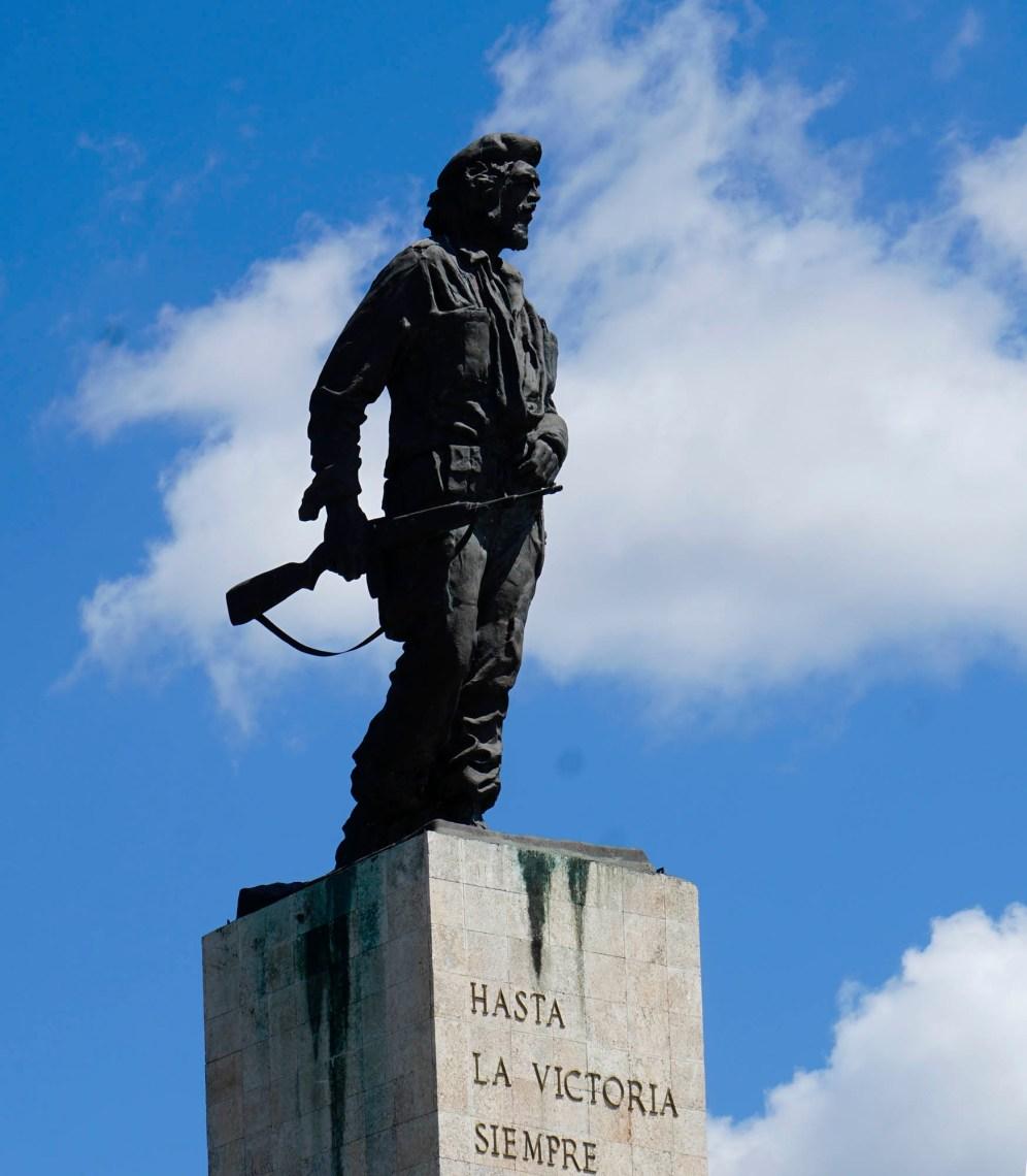 Ausschnitt Che Guevara Monument in Santa Clara