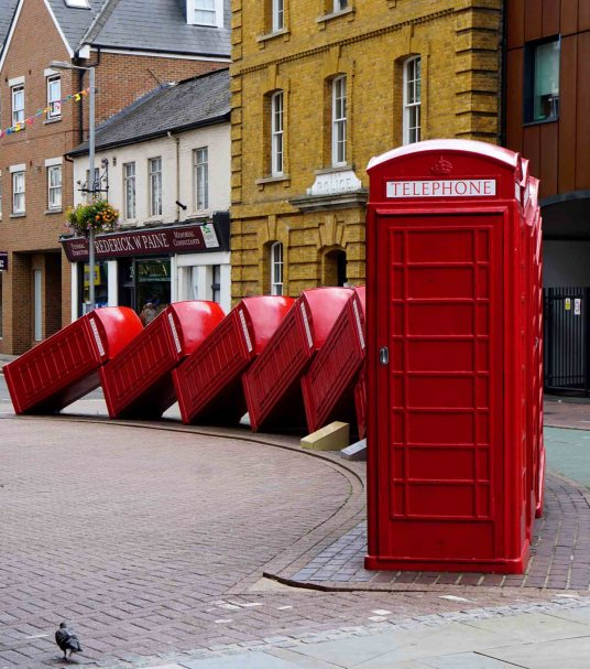 out of order - Kingston upon Thames