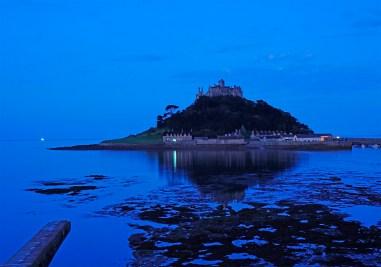 St. Michael's Mount zur blauen Stunde