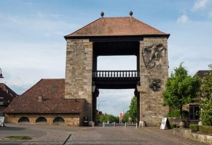 Das deutsche Weintor bei Schweigen