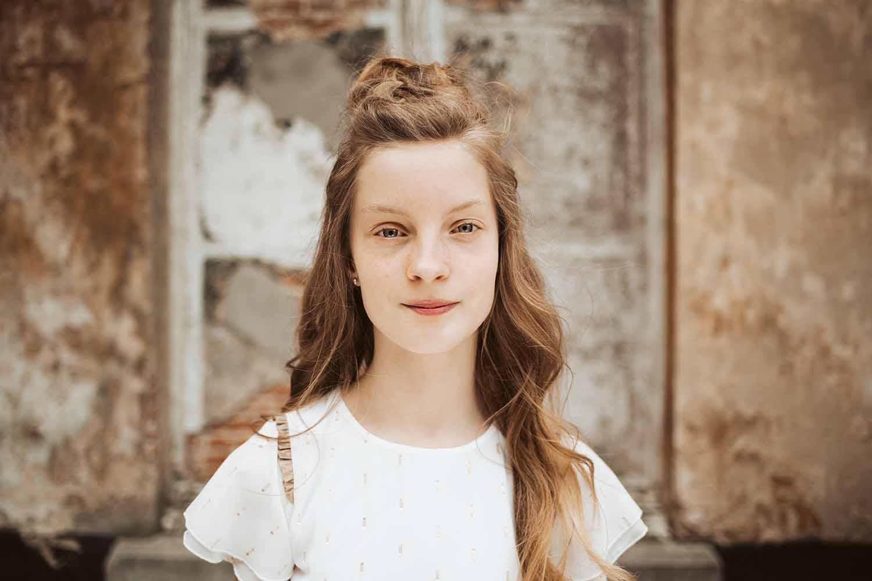 communie meisje portret