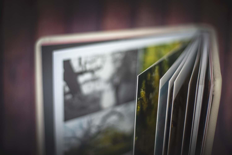 trouwfotografie - fotoalbum gesloten