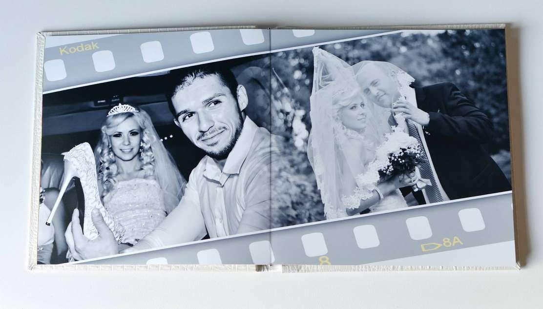 trouwfotografie - fotoalbum geopend