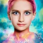 Art Portrait eines Mädchen vom Fotografen Eugen Wagner München