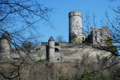 raumpfad Pyrmonter Felsensteig - Burg Pyrmont