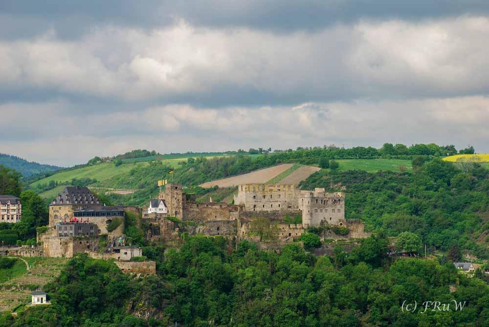 Burg Rheinfels - Rheinsteig - St Goarshausen - Kaub