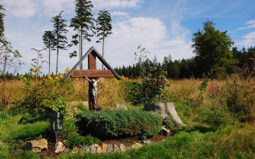 Das Hohe Venn und ein Grab