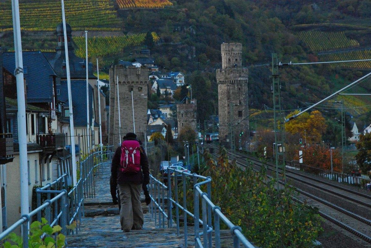 Wochenende auf dem Rheinburgenweg