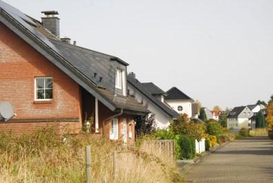Hexenroute Häuserreihen