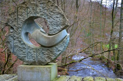 Gedenkskulptur Kall Brücke