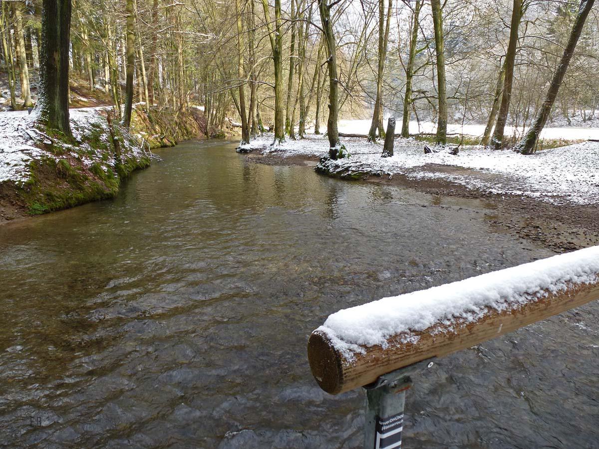 Wasser des Eifgenbach