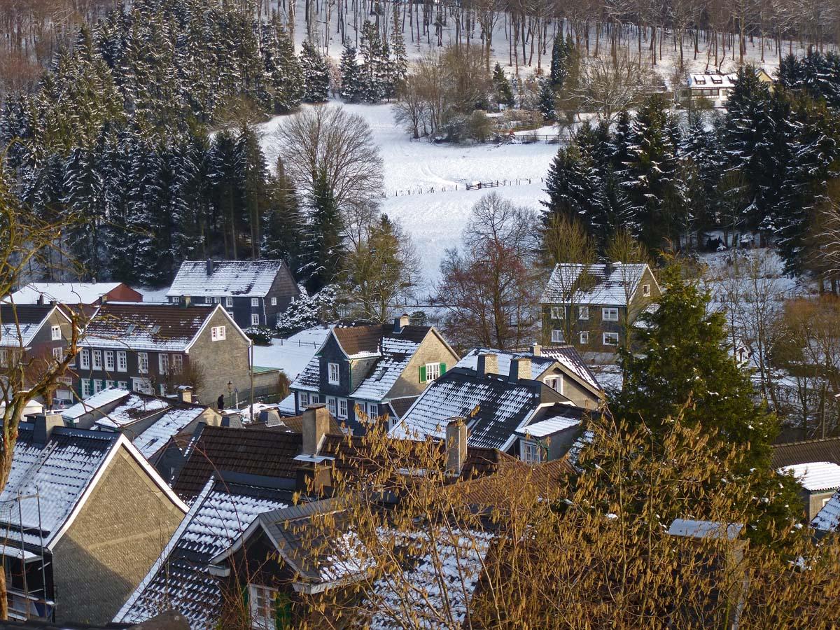Blick über die Dächer Beyenburgs