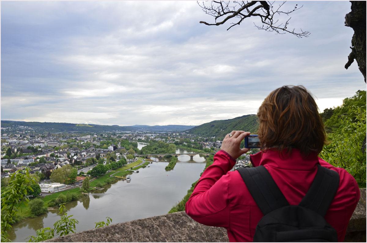 Ein Blick Richtung Trier - Der Eifelsteig zwischen Kordel und Trier