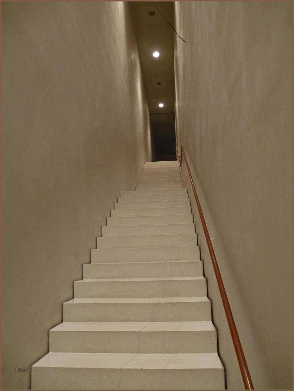 Die Trepenaufgänge sind meiner Meinung nach eine Glanzleistung