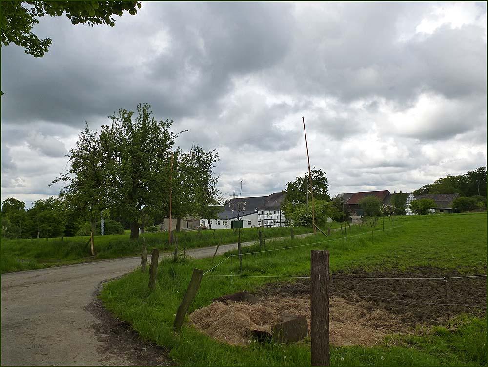 Blick auf Groß Grimberg