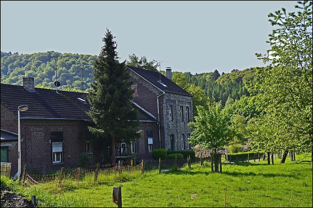 Die alte Schule von Fähr, hier hat Lehrer Giebel in den Jahren 1876 - 1899 rd. 116 Schüler ganz allein unterrichtet.