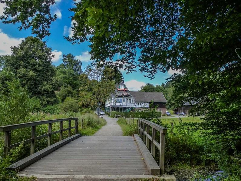 Brücke zur Berger Mühle